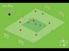 Build up from the back on 3 in game U7 Soccer Drills, Soccer Training, Football Soccer, Training Tips, Coaching, Mens Fashion, Workout, Facebook, Games