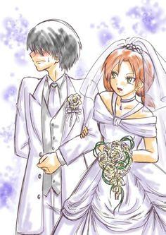 ANSATSU KYOUSHITSU/ASSASSINATION CLASSROOM, Fan Art, Chiba Ryuunosuke, Hayami Rinka, Wedding Suit