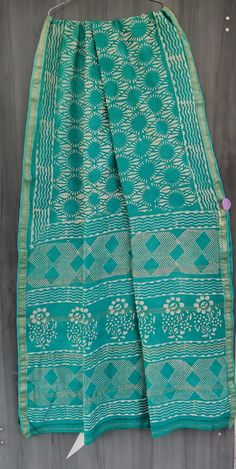 Price Rs 2145 + Shipping extra Beautiful hand block printed Maheshwari silk sarees With blouse Bridal Sarees, Designer Sarees, Sarees Online, Patterned Shorts, Silk Sarees, Party Wear, Printed, Stylish, Blouse