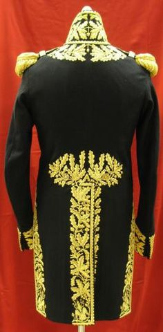 French Napoleonic Marshals Uniform 1800's reproductions