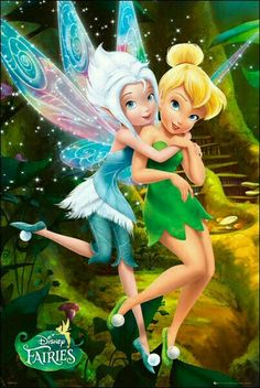 Disney Fairies - Poster (Secret Of Wings - Tinkerbell & Friend) (Size: x Bell and her sister parerwinkel Disney Pixar, Walt Disney, Disney Cartoons, Disney Animation, Disney Art, Merida Disney, Disney Wiki, Disney Posters, Disney Villains