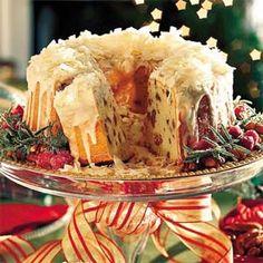 Cream Cheese Coconut Pecan Pound Cake