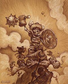 Battleskull by Justin Gerard