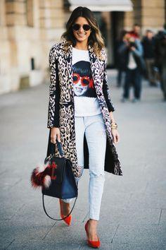 Helena Bordon Street Style. women's fashion and street style.