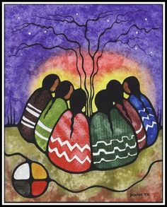 First Nation Artists Native American Paintings Native Art Rabbit Art Native Art Canadian Art Togetherness Original Paintings Stardreamer Ritchie Norval Morrisseau Native Artist Member Of The Indian Group Of Sea…Read more of Native Art Paintings Arte Haida, Haida Art, Native American Paintings, Native American Artists, Canadian Artists, Kunst Der Aborigines, American Indian Art, American Women, American Indians
