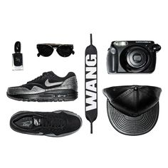 Złap zajawkę! Air Max 1, Get The Look, All Black Sneakers, Nike, Shoes, Fashion, Moda, Zapatos, Shoes Outlet