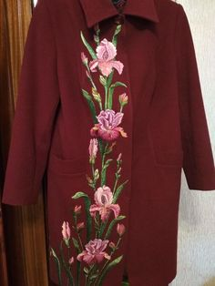 Одноклассники Hand Embroidery Stitches, Machine Embroidery Patterns, Embroidery Designs, Together Fashion, Kate Middleton Hair, Embroidered Clothes, Flower Tattoo Designs, Kurta Designs, Fabric Painting
