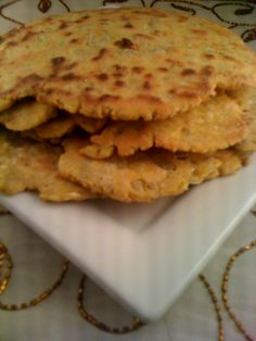 Gluten Free/Vegan Missi Roti Indian Bread - it will be fun to play around with the flours.