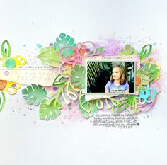 The Ink Road Guest Designer Project - using the Frond of You & Compliments Vol. 1 stamp sets; Shimmerz Paints; cut files from Cocoa Vanilla Studio & The Cut Shoppe