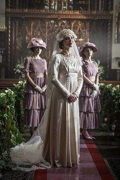 Mr. Selfridge season 3 wedding dress