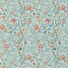 The Original Morris & Co - Arts and crafts, fabrics and wallpaper designs by William Morris & Company   Products   British/UK Fabrics and Wallpapers   Mary Isobel (DM3W214731)   Archive III Wallpapers