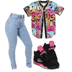 × Dont Watch Me Better Just Watch Yo Nîgga Høe ! × A fashion look from February 2015 featuring high rise jeans and coach jewelry. Swag Outfits For Girls, Cute Outfits For School, Cute Swag Outfits, Teenage Outfits, Dope Outfits, Teen Fashion Outfits, Dope Fashion, Baddie Outfits Casual, Stylish Outfits