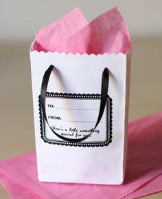 Envelope giftbag DIY