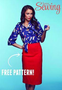 Free Lottie Skirt Pattern Download!
