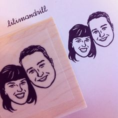 Custom Portrait Stamp @lilimandrill www.lilimandrill.fr #etsy #coupleportrait #EtsyGifts #bachelorette #etsywedding #wedding #mariage #bride #diy #couple #stamp #giftforcouple #gift #weddinggift #DifferenceMakesUs #invites #party #engagement #uniquegift