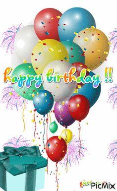 Happy Birthday Black, Happy Birthday Greetings Friends, Happy Birthday Wishes Photos, Happy Birthday Minions, Happy Birthday Celebration, Happy Birthday Candles, Birthday Wishes Cards, Happy Birthday Balloons, Happy Birthday Messages