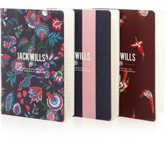 Pretty in print. Making notes is stylish with the Belford Notebook Set #JackWills