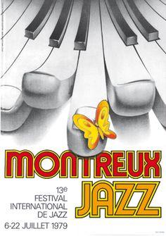 Toutes les affiches du Montreux Jazz festival de 1967 à 2015