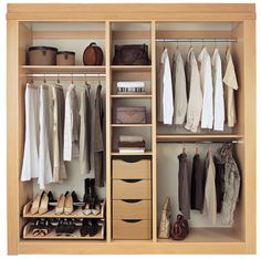 wardrobe layout