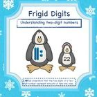 Frigid Digits is Common Core Aligned to first grade standard 1.NBT.2 Understand that the two digits of a two-digit number represent amounts of tens...