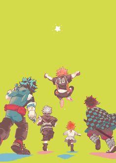 Otaku Anime, Me Anime, Fanarts Anime, Anime Demon, Anime Guys, Manga Anime, Anime Crossover, Fandom Crossover, Dark Fantasy