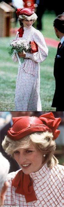 June 14, 1983: Prince Charles & Princess Diana on a walkabout on their arrival at Garrison Grounds, Halifax, Nova Scotia, Canada. (Day 1).