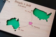 ~ we ❤ this!  moncheribridals.com ~ #weddingguestbook