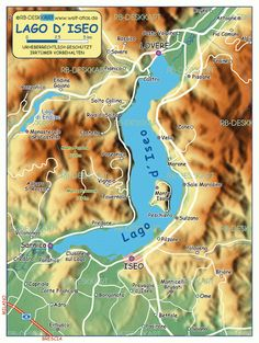 Iseo Lake in Northern Italy - To have a bit more orientation, pls see the map attached. www.iseosee.info