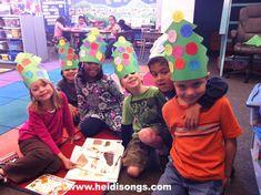 Tree Hats Freebie from HeidiSongs!