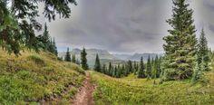 Hiking path leading away from Andrews Lake near Durango, Colorado - Photo courtesy of 360Durango.com