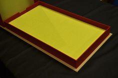The Charge! Custom box for rare board game - Bella Forte Bookbinding & Letterpress