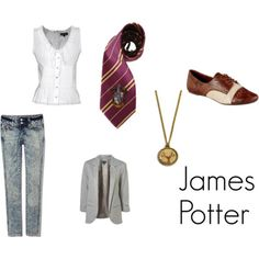 """James Potter from JK Rowling's Harry Potter series  """"The last enemy that shall be destroyed is death."""""""