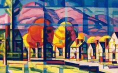 Oscar Bluemner - Morning Light (1912-16)