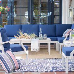 Seaside-Inspired Outdoor Furniture & Decor
