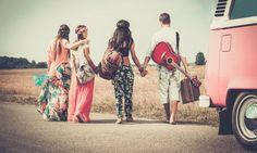 Mochilão Hippie / amigos / viagem