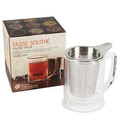 Tasse solithé - Préparez votre thé en solo sans sortir votre théière ! - 12,95 €