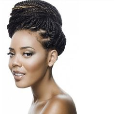 Bun braids