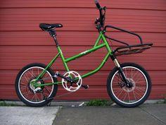Onya Cycles ET test build w/ woody rack