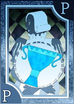 Persona 3/4 Tarot Card Deck HR - Page of Cups by Enetirnel
