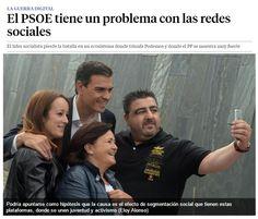 El PSOE tiene un problema con las redes sociales / @LaVanguardia | #socialpolitics