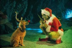"""Jim Carrey used his dog Max in """"THE GRINCH""""."""