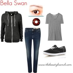 Halloween 2012 Costume Idea: Bella Swan    http://www.thebeautybranch.com/