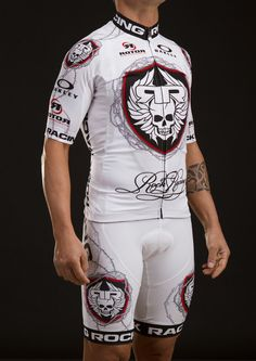ROCK RACING SHOP  CLOTHING   Crusade Jersey in White b085d3241