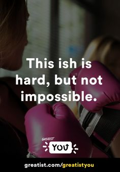 This ish is hard—but not impossible. #greatistyou #confidence #strength http://greatist.com/live/greatistyou-day-sixteen-regina-stays-strong