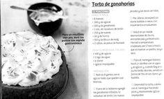 Torta de Zanahorias - Maru Botana