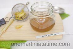 lemongrass syrup for cocktails