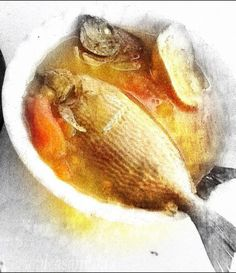 Malay Rabbit Fish Sour soup