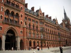 Pancras Station Hotel - The Access Panel Company Access Panel, Gaslighting, Floor To Ceiling Windows, Victorian Gothic, Door Design, Louvre, Fire, Building, Natural Light