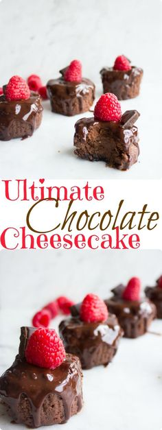Ultimate Chocolate Cheesecake. Intensely chocolatey, velvety smooth chocolate cheesecake that's a chocoholic dream! Fool proof easy recipe that's ready in 18 mins only! http://www.twopurplefigs.com