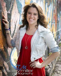 Graffiti senior picture